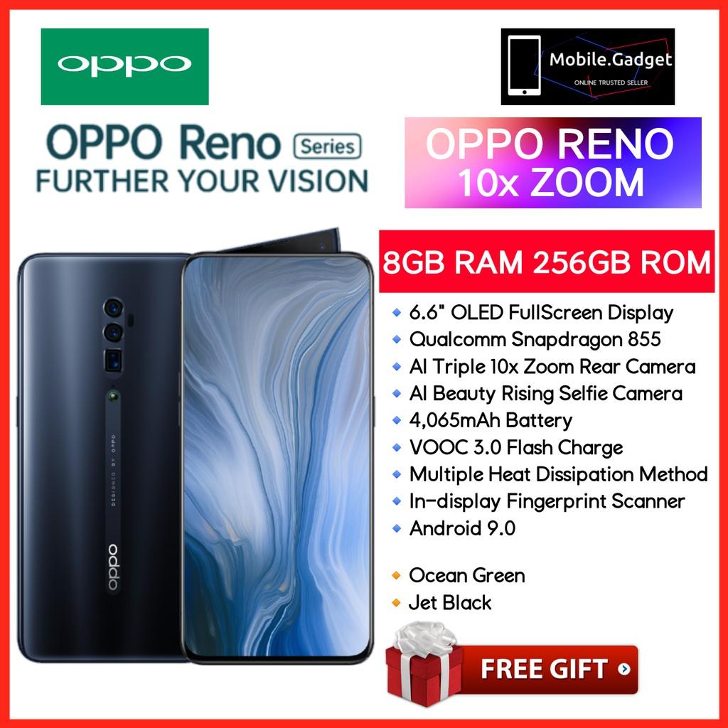 OPPO RENO 10× Zoom 10× Hybrid Zoom 60× Digital Zoom