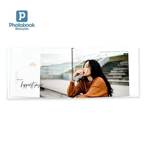 "Photobook Disney Small Landscape Imagewrap Hardcover Photobook (8"" x 6"")"