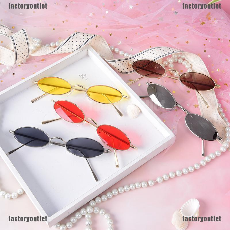 294892df5060 ProductImage. FOMY vintage small oval metal frame sunglasses women's ...
