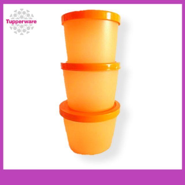 Tupperware Kit Cup Set - 3pcs