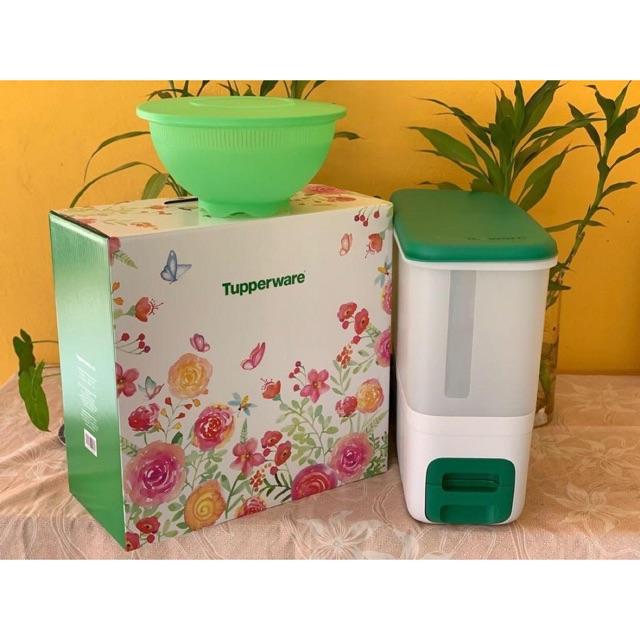 Rice smart hijau tupperware