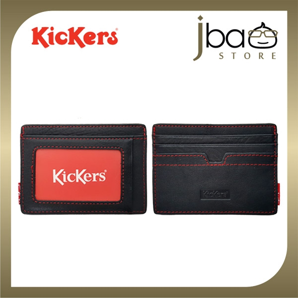 Kickers KIC88675 Leather Pocket Wallet Credit Access T&G Card Holder
