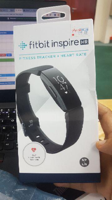 Fitbit Inspire Hr Fitness Tracker - Black/White Black/Lilac