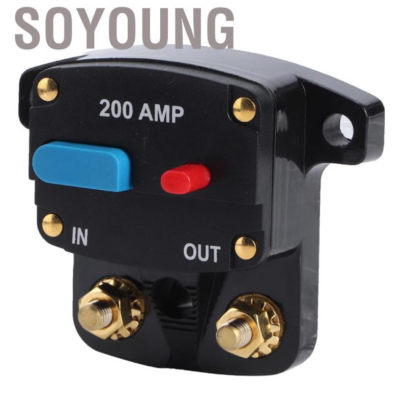 100A Suuonee Automatic circuit breaker 80A-300A Automatic resettable circuit breaker Self-resetting fuse Manual reset button