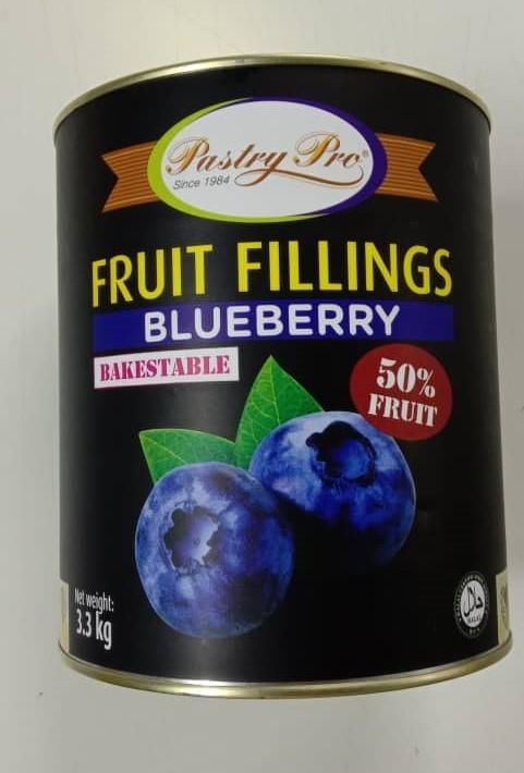 PastryPro Fruit Fillings Blueberry 70% Fruit (3.3kg)