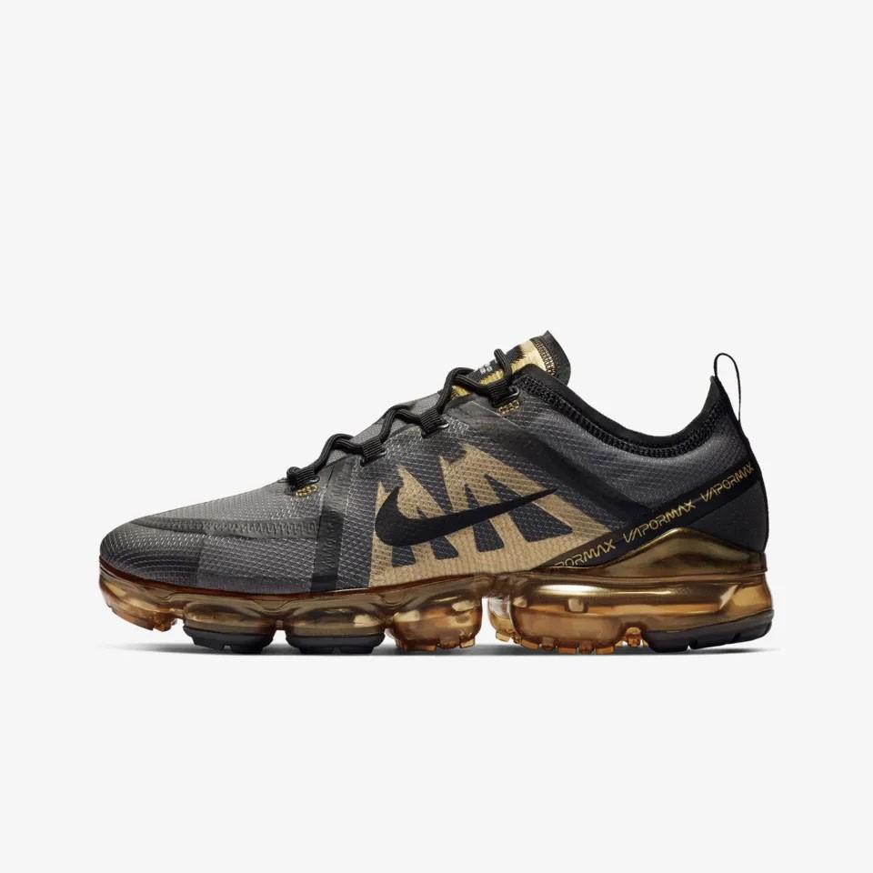 hot sale online b4ada 57be4 Nike Air Vapor Max 2019 Black Metallic Gold AR6631-002