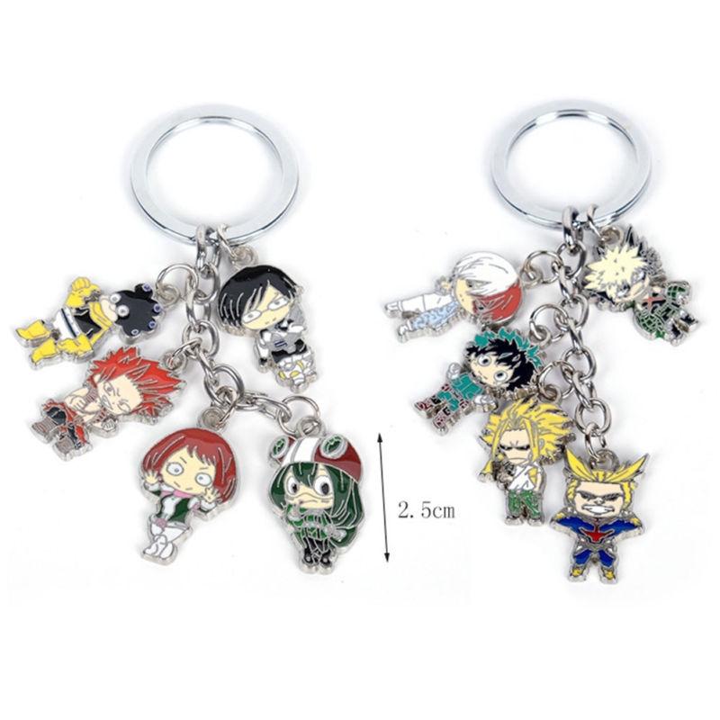 New Hot Japan Anime Boku no Hero Academia Rubber Strap Keychain Pendant Gift A+