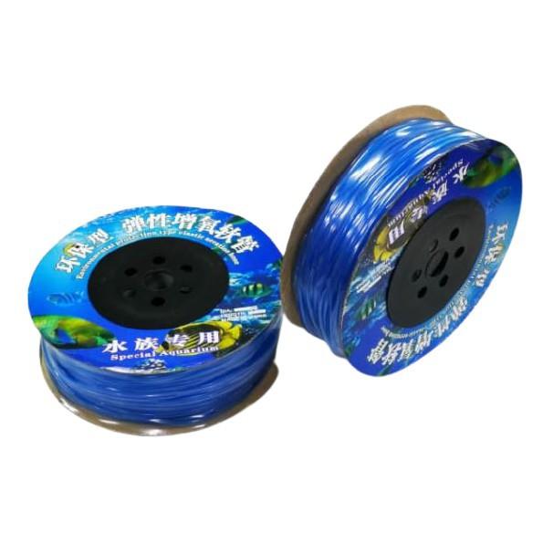 (WHOLSALE) 1meter Aquarium Air Hose Tube 4mm Blue Color for Air pump and Air stone use (Ready stock Selangor)