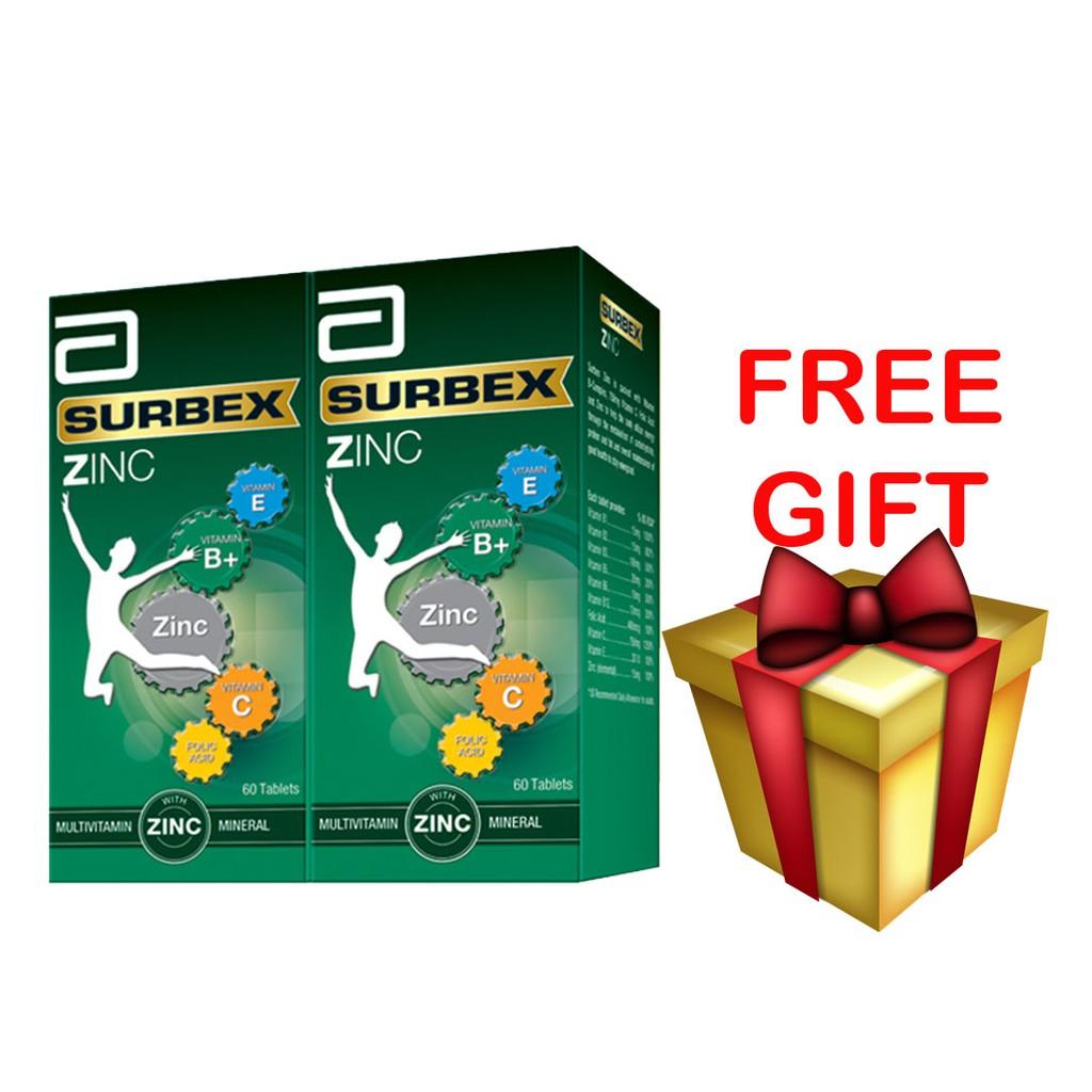 Surbex Zinc (60\'s x 2) [Free Gift]