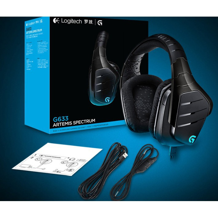 Logitech G633 original brand new cable game headset | Shopee Malaysia