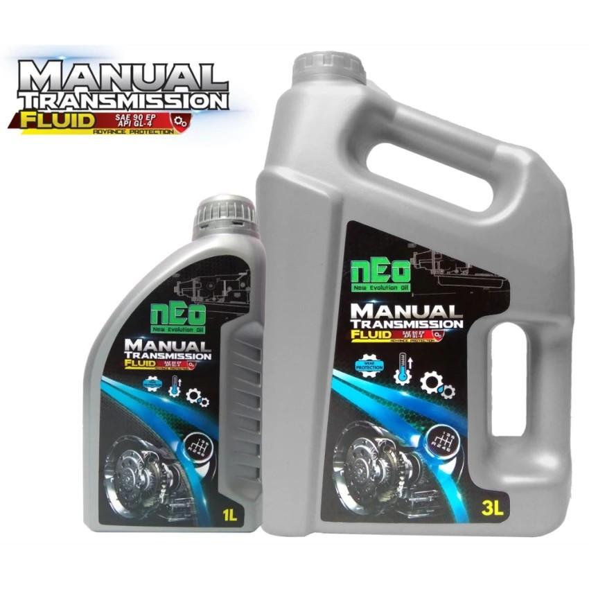 Manual Transmission Fluid API GL-4 nEo 3 Litre + 1 Litre Gear Oil / Gear  Lube
