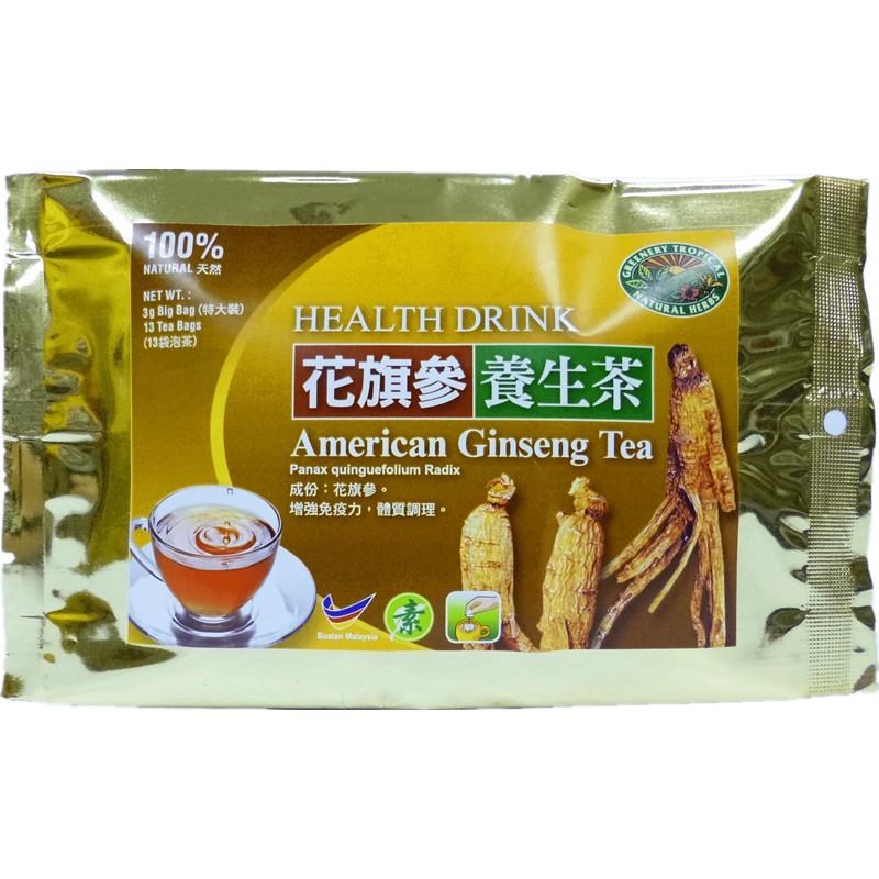 American Ginseng Tea:Tonify Qi & Nourish Yin 花旗参茶:补气养阴