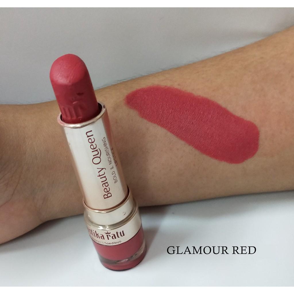 Mustika Ratu Beauty Queen Bold & Nourishing Lipstick GLAMOUR RED [Mustika Ratu]