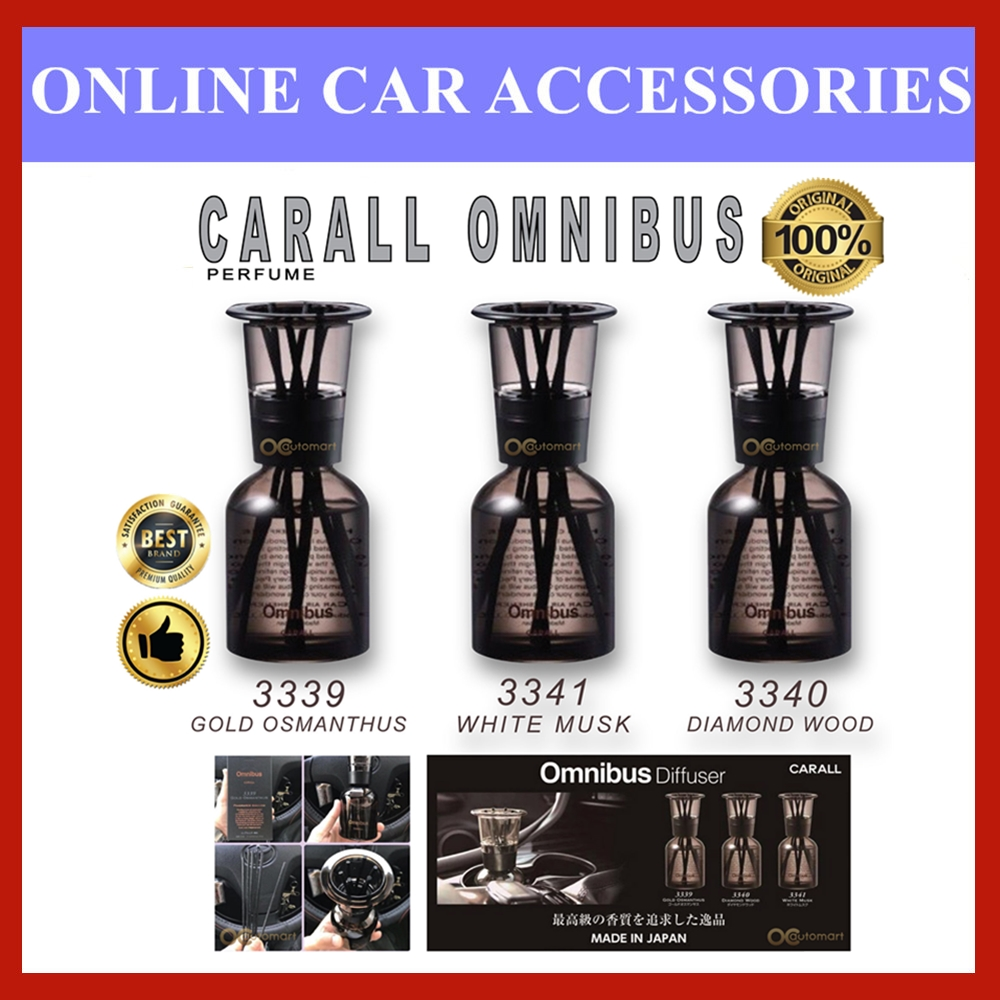 Carall Omnibus Diffuser Fragrance Amazing Perfume Air Freshener 100% Made in Japan (160ml)