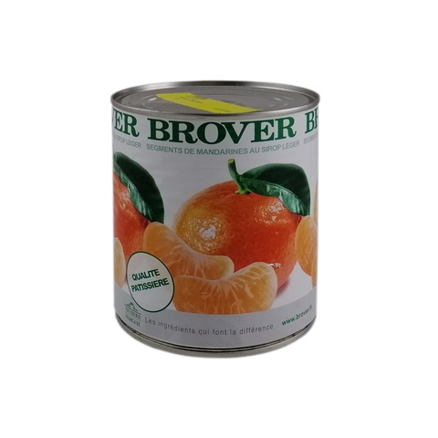 BROVER, Peeled Satsuma Mandarin Segments In Light Syrup