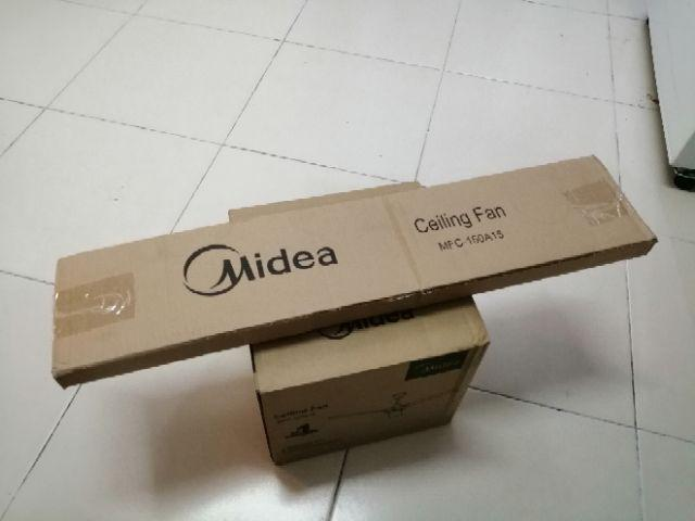 Midea Ceiling Fan Mfc 150a15 Shopee Malaysia