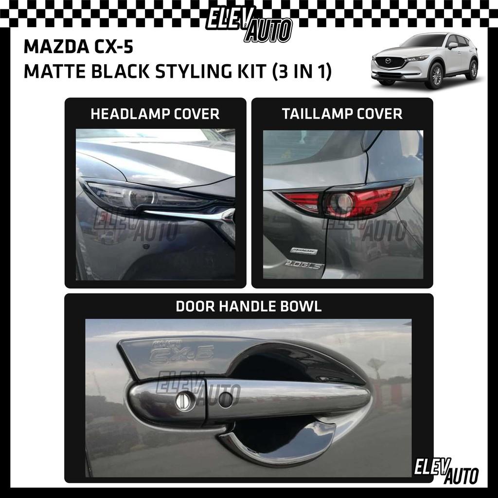 Mazda CX-5 CX5 2017-2021 Piano Black Styling Kit Body Kit (3 in 1)