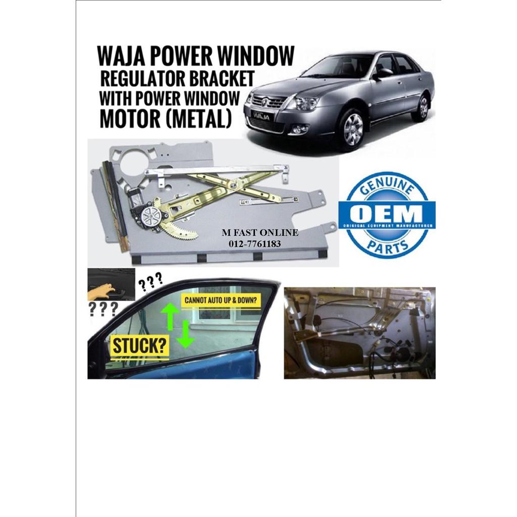 POWER WINDOW REGULATOR CKET WITH MOTOR PROTON WAJA on