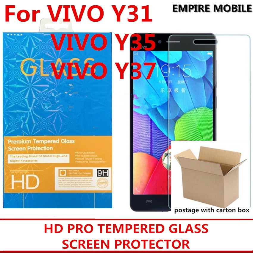 VIVO Y31 Y35 Y37 TEMPERED GLASS SCREEN PROTECTOR
