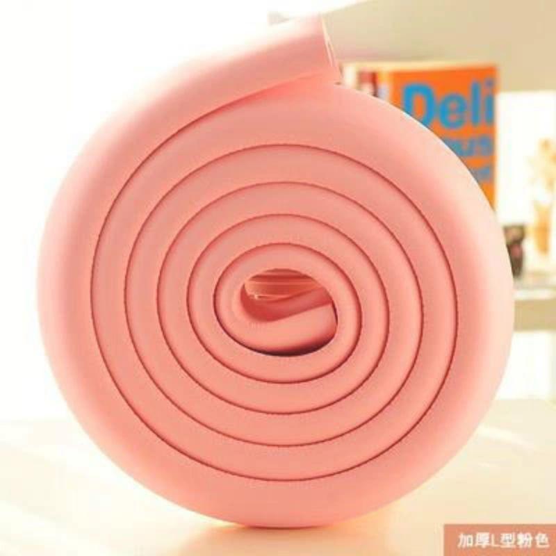 儿童防撞条防护条 加厚条 幼儿园宝宝安全用品保护条2米配胶