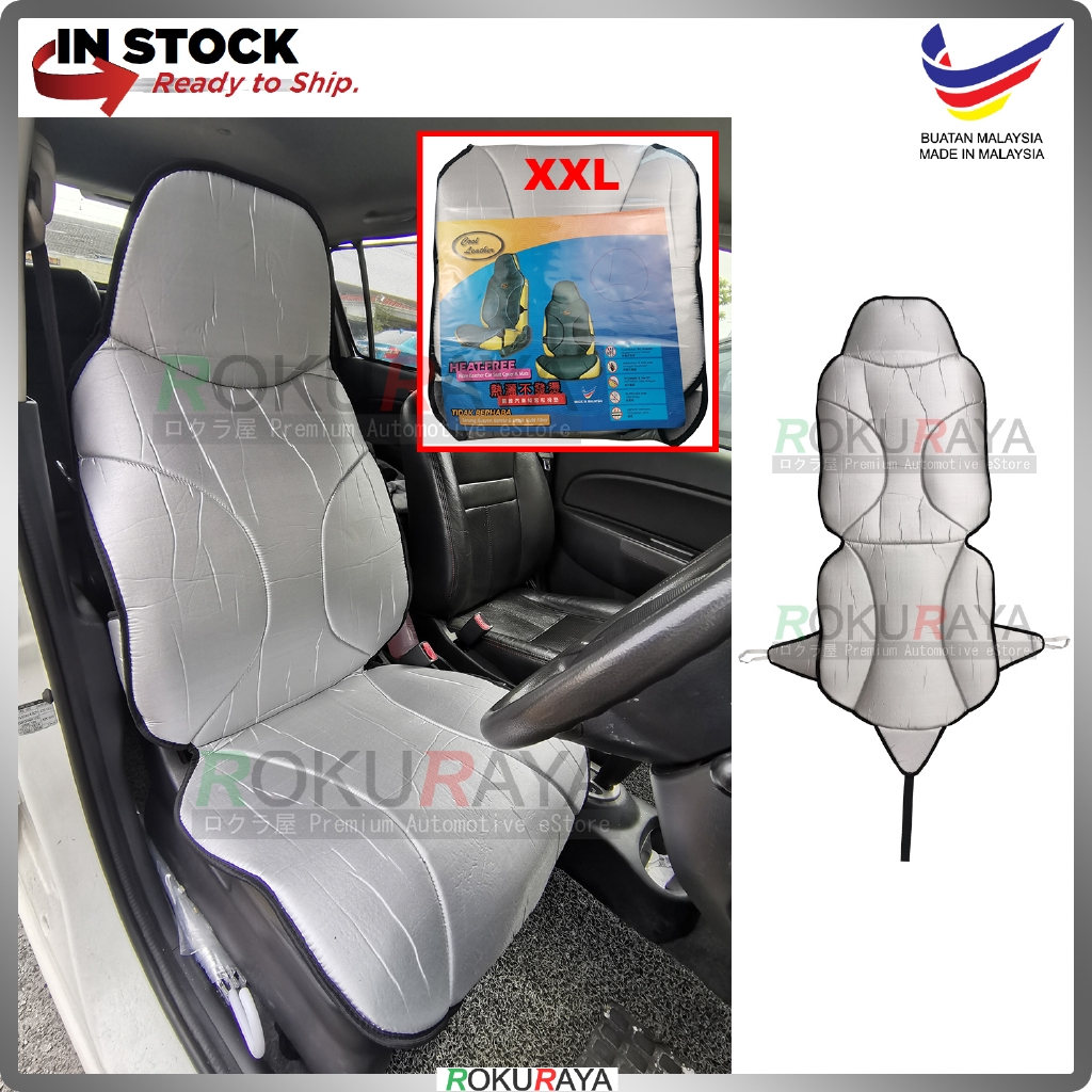 Universal Automobile Cool Leather Coolmax Cushion Cover Car Seat Mat (SILVER)