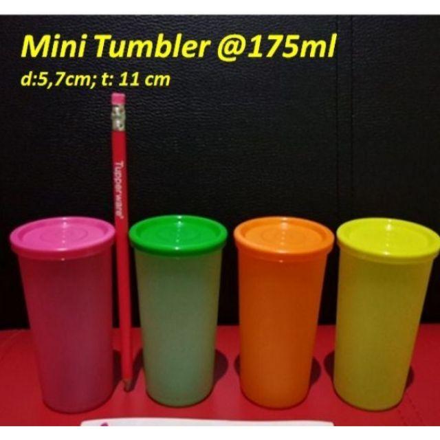 Tupperware  mini tumbler set 6pcs/ set 4 pcs