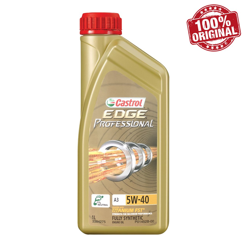 Efterstræbte Castrol EDGE PROFESSIONAL 5W40 SN/CF Fully Synthetic Engine Oil (1 PQ-74