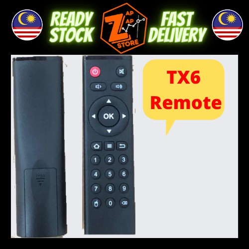 Tanix Tx6 Remote control for Android tv box