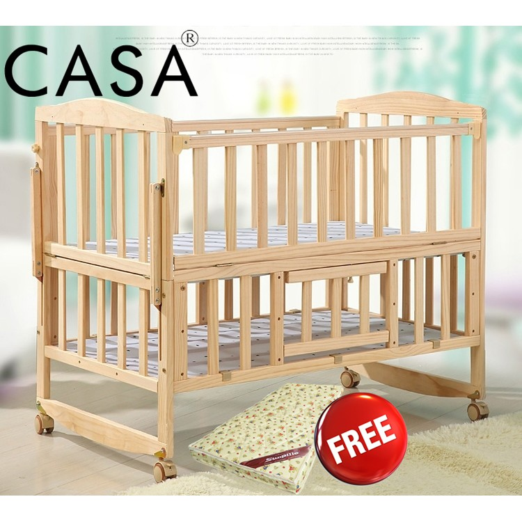 Cassa Super Big Comfortable Baby Newborn To Toddler Portable Bed Or
