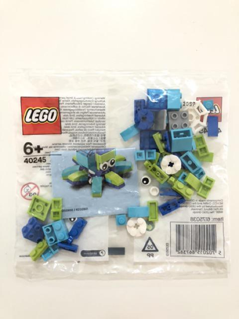 LEGO 40245 MiniBuild Octopus Polybag July 2017 Monthly Mini Model Built Sealed