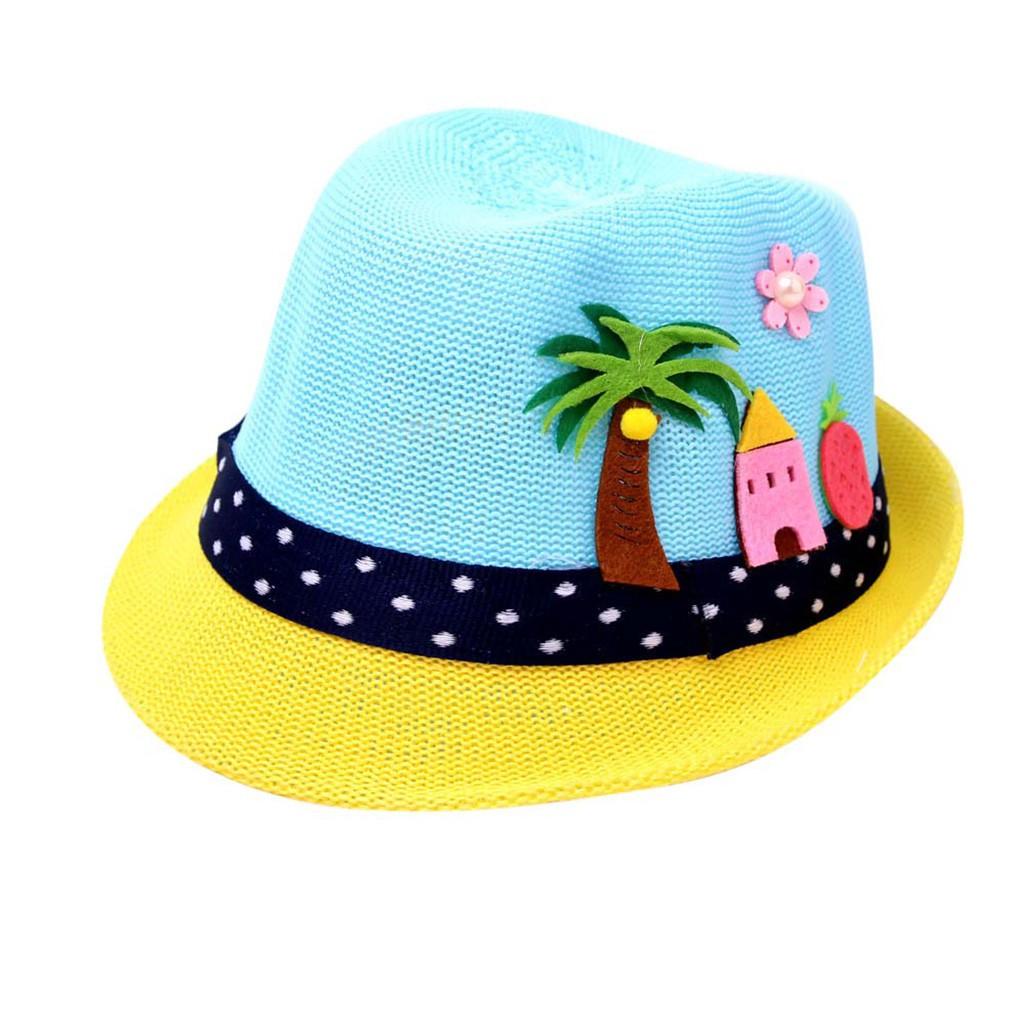Summer Children Hat Cap Cute Cat Breathable Hat Kids Hat Boy Girls Hats Caps