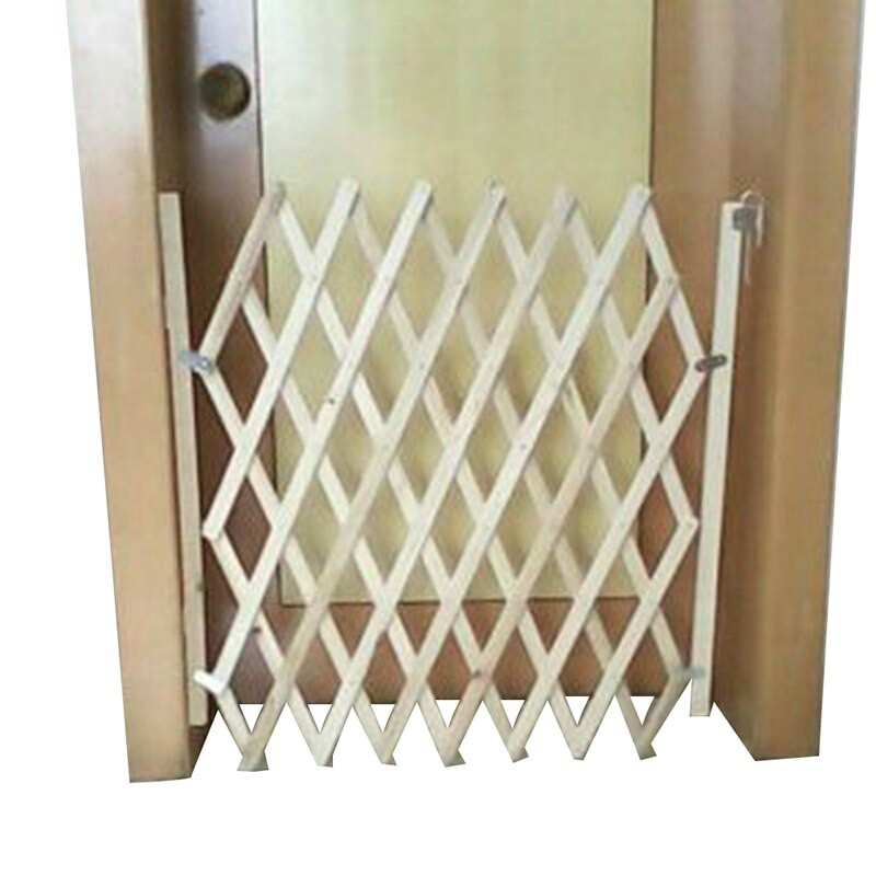 Portable Safety Gate Folding Mesh Stair Gate 150cm X 110cm Magic Gate For Dogs
