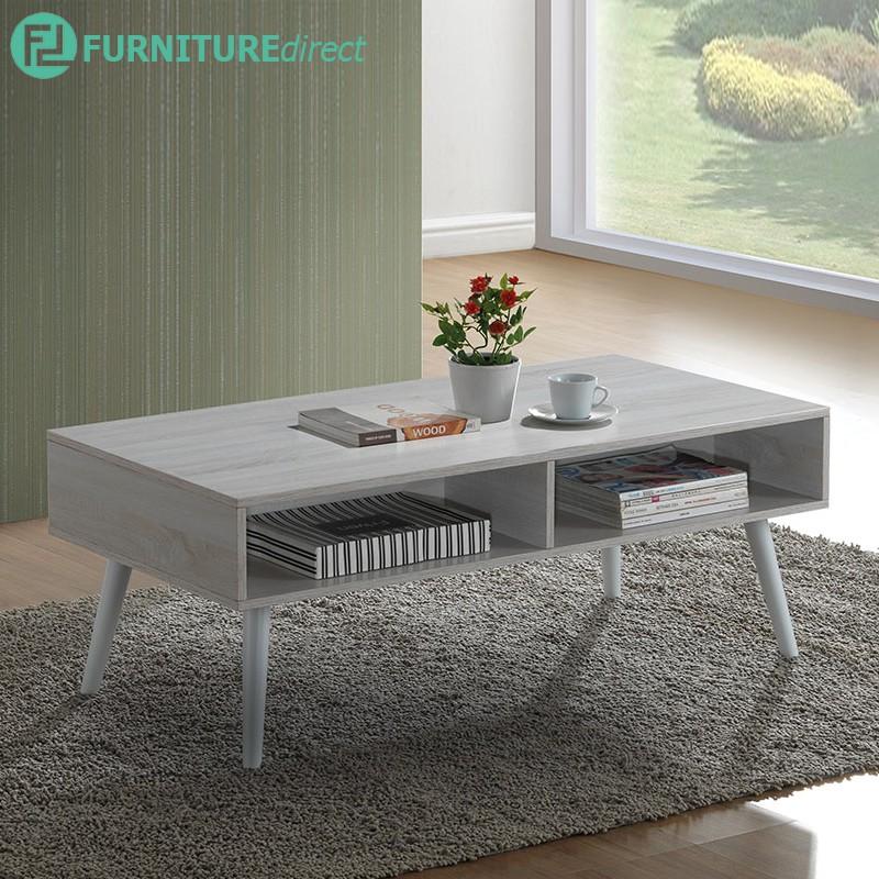 Furniture Direct CF3122 Scandinavian 4 feet coffee table-grey oak