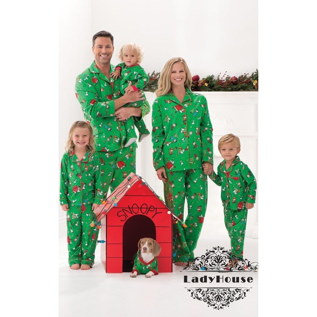 255fc1b1aa .U8-New Family Matching Christmas Pajamas Set Women Baby Kids Sleepwear