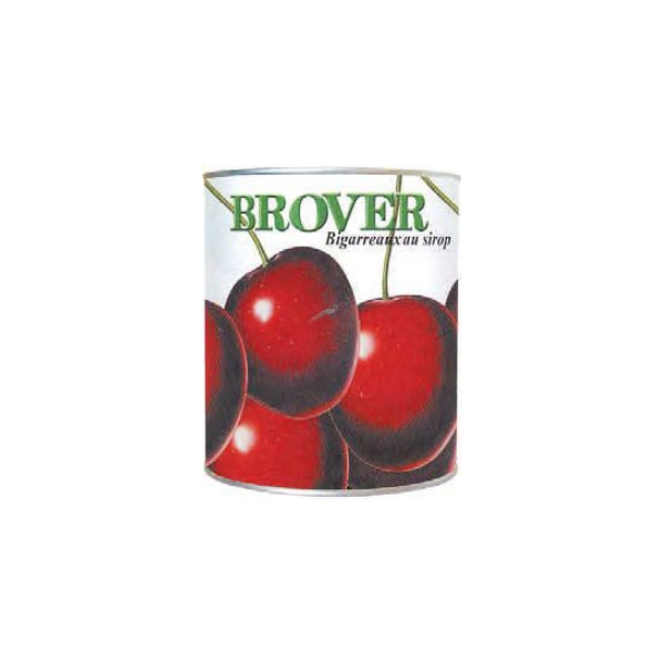 BROVER, Whole Stoned Amarena Cherries In Heavy Syrup