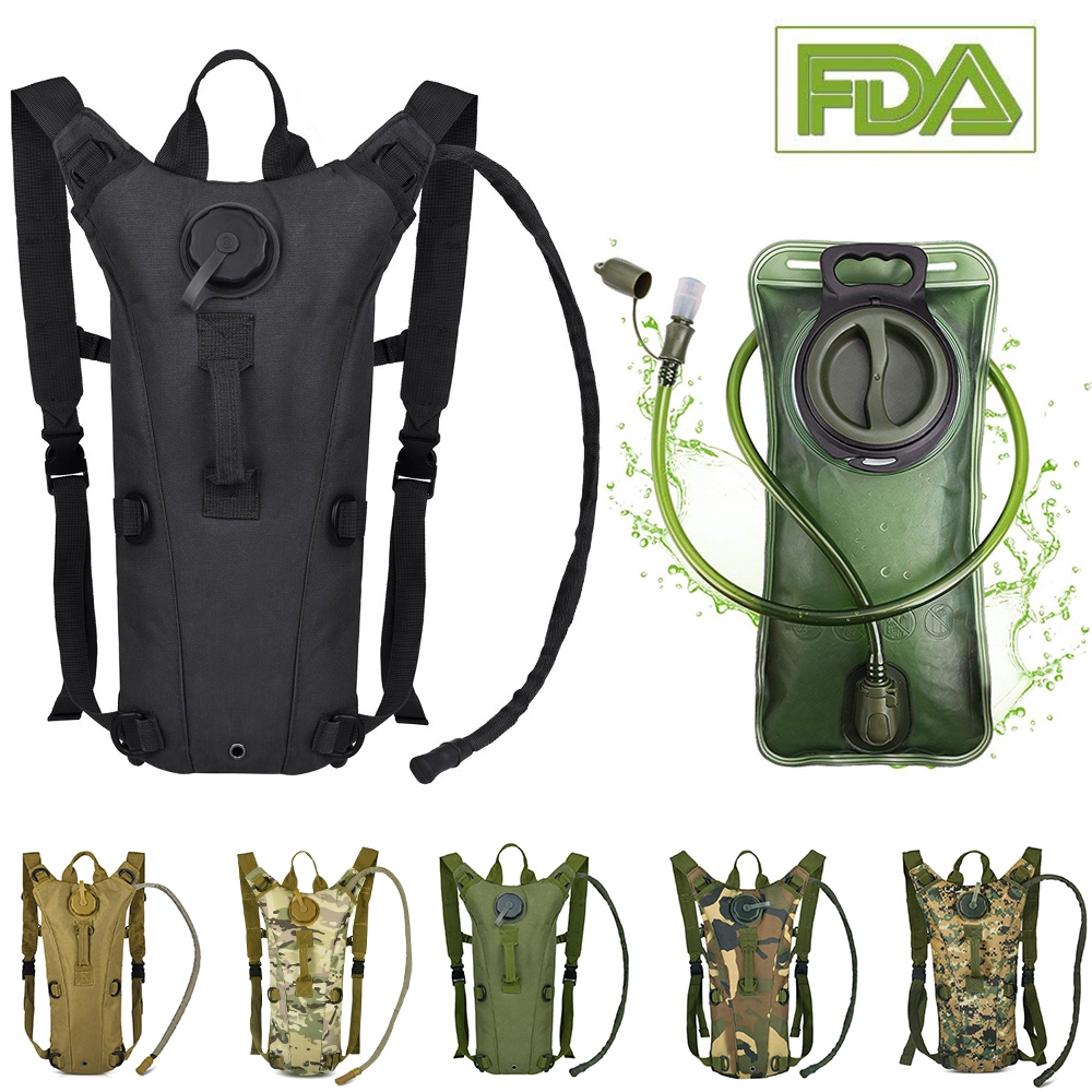 3L Hydration Bladder Water Hiking Backpack Bag Camping Pack Camelbak Cycling Us