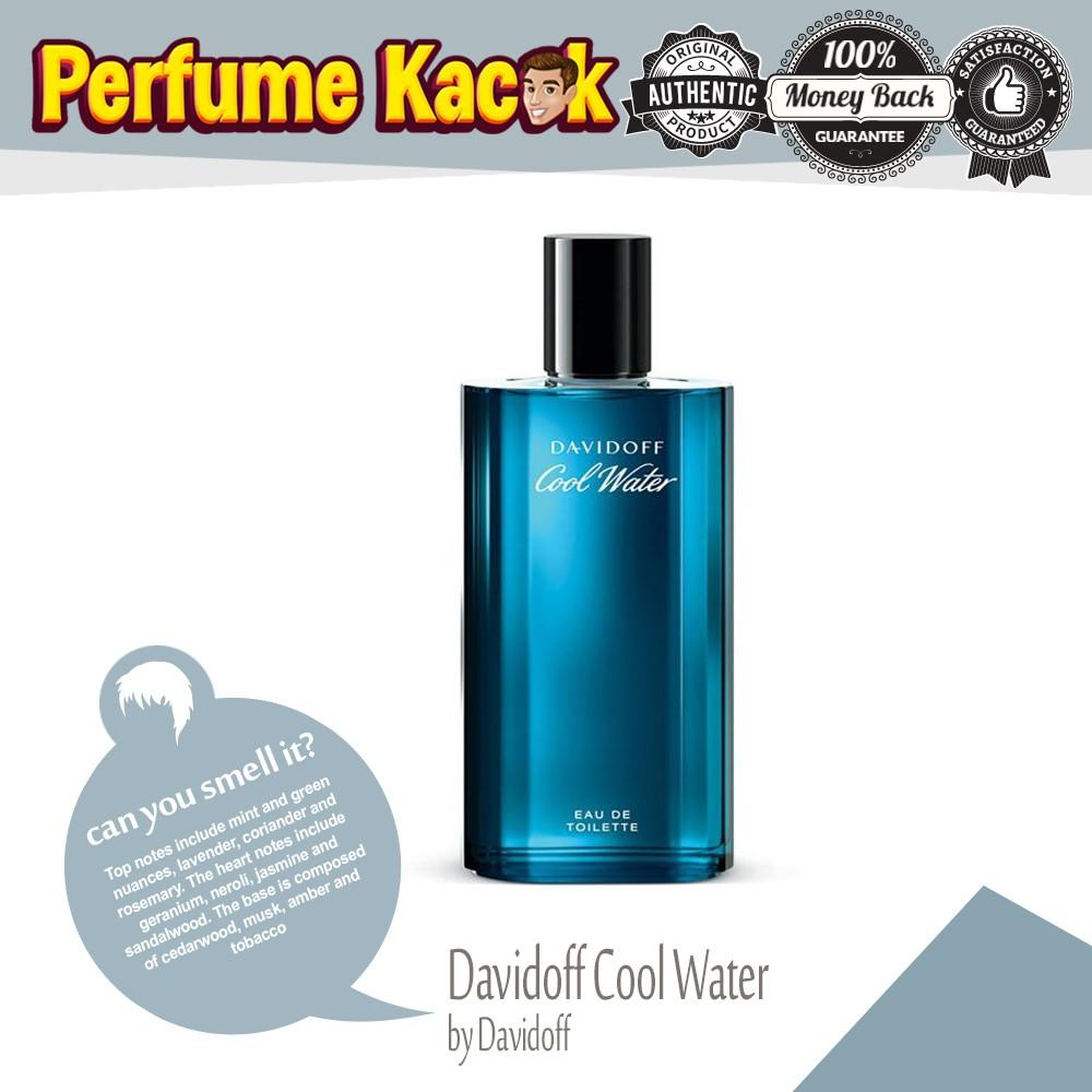 Inspired Perfume Bandung Davidoff Cool Water Shopee Malaysia