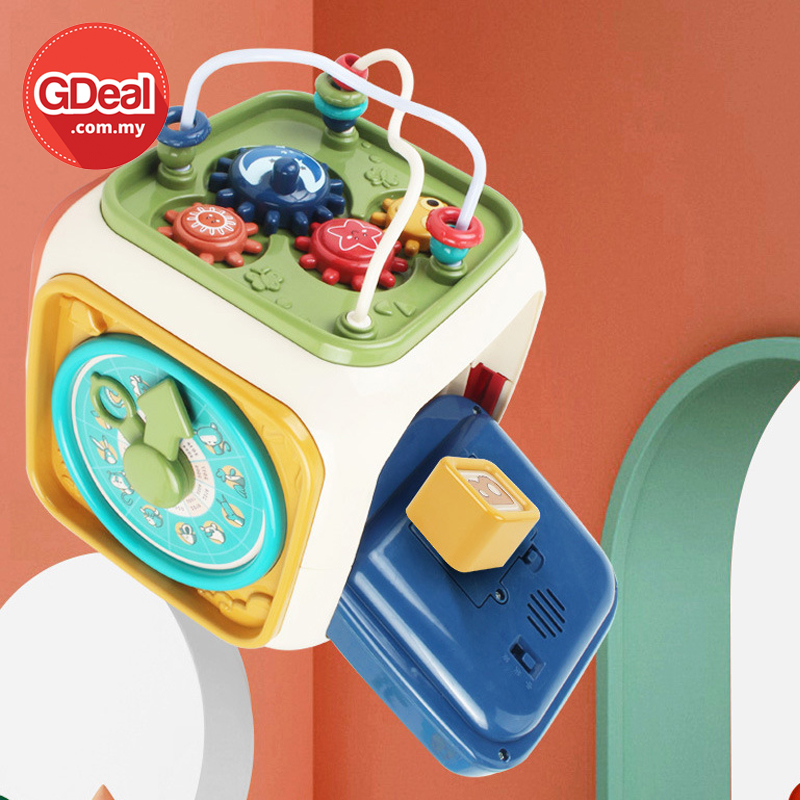 GDeal Childrens Educational Multifunctional Hand Clap Toy Treasure Chest For Early Education (Random Colour)