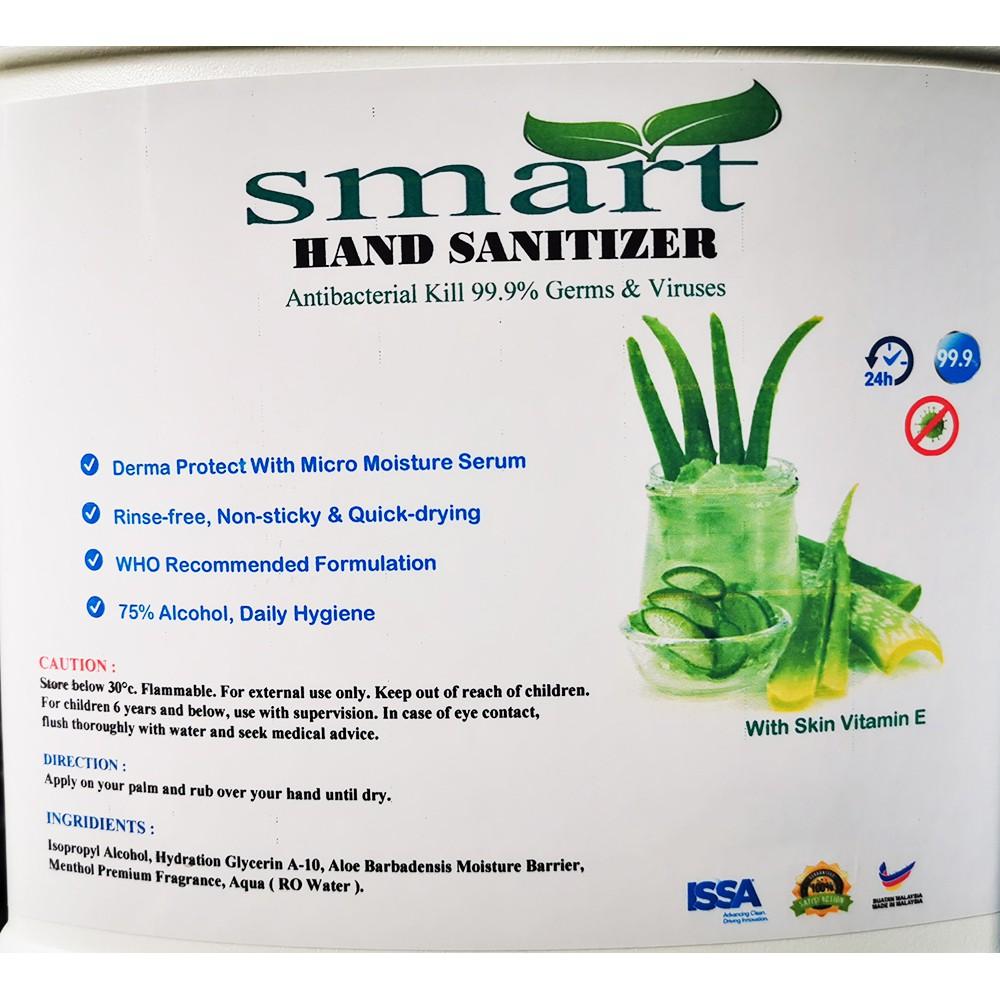 🔥 Ready Stock 🔥 30ml Instant Hand Sanitizer With Aloe Vera (Liquid Type 75% Alcohol)