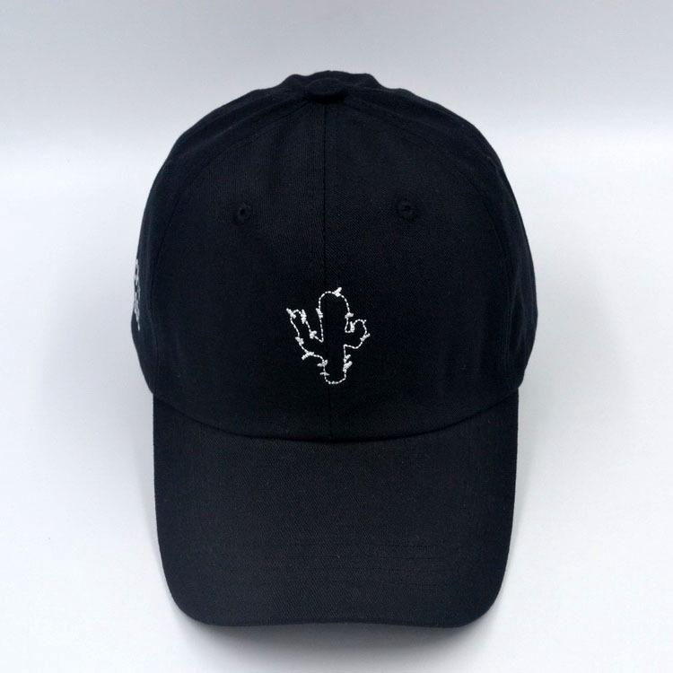59cc0230 Retro Cactus Baseball Hat Summer Simple Style Soft Top Hat Fashion Hat
