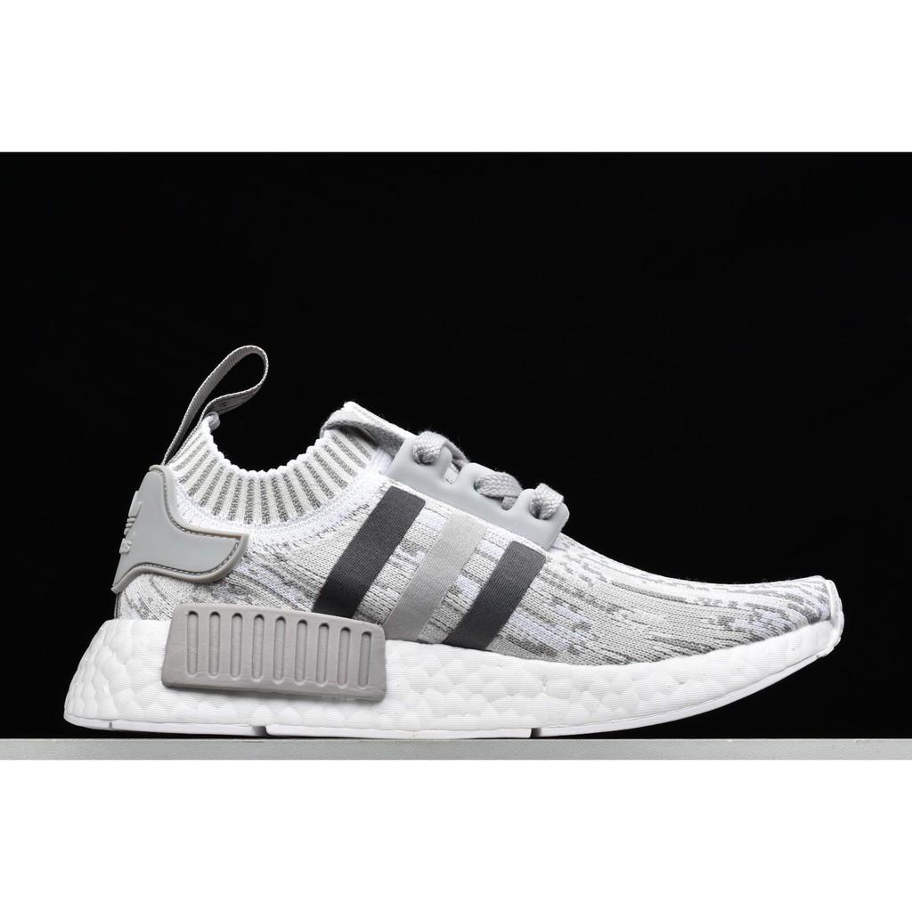 buy online eecc6 f92b2 adidas nmd r1 primeknit triple black casual shoes