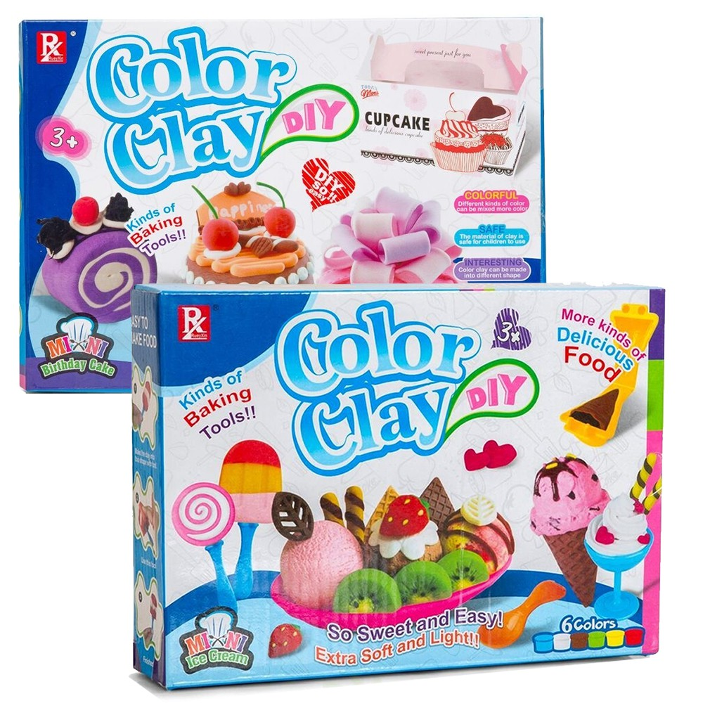 Useful 24 Colors Diy Soft Modelling Clay Set Plasticine Polymer Clay Slime Toys With 14 Embossing Pens Handmade Toy For Children Modeling Clay
