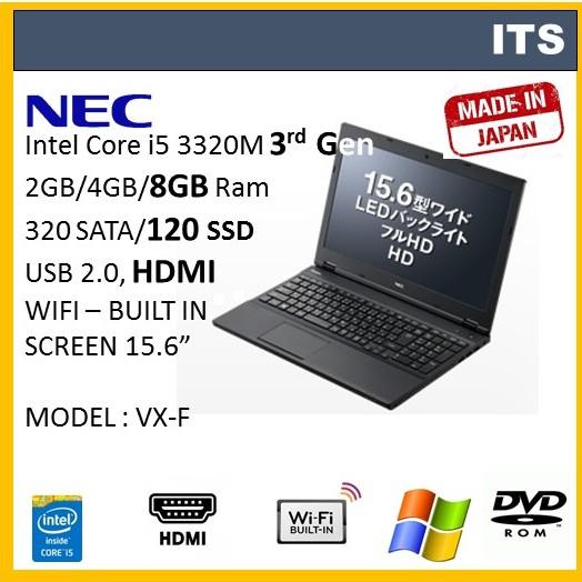 Refurbished Laptop Core i5 / 4GB-8GB RAM / 320GB HDD (VX-F)