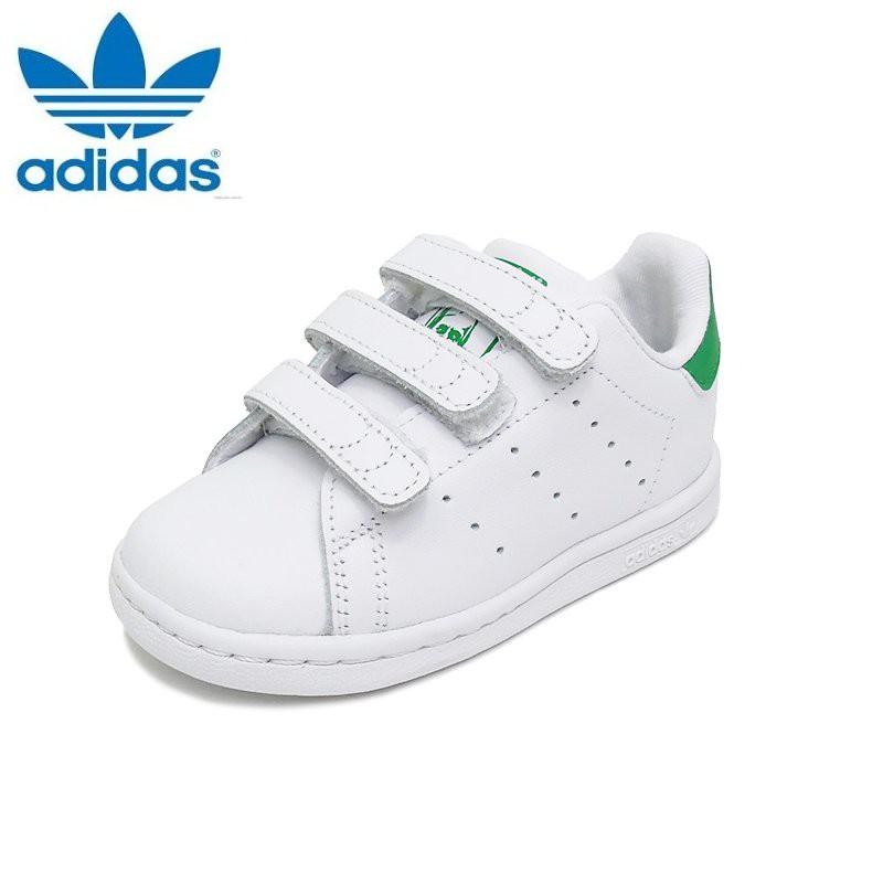 9c403bf2 Adidas Baby Unisex Originals Superstar BZ0520 (White/Green) Toddler Shoes