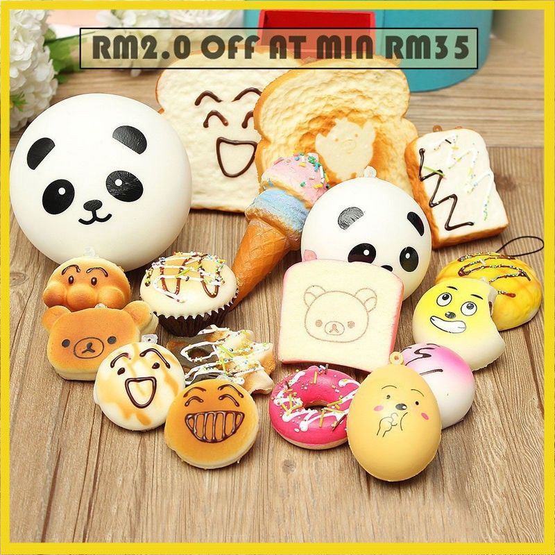 Capable 7cm Key/bag Strap Pendant Squishes Bag Accessories Jumbo Panda Squishy Charms Kawaii Buns Bread Cell Phone Yet Not Vulgar Bag Parts & Accessories