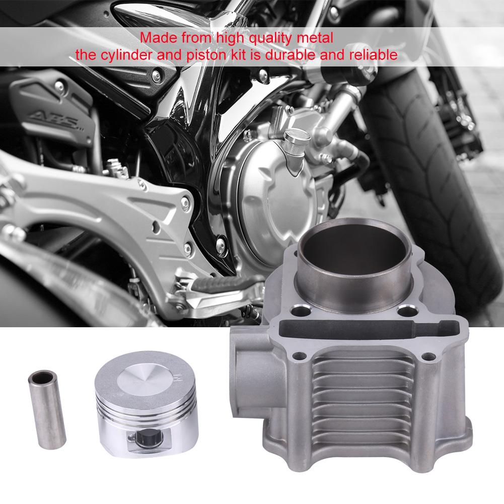 Motorcycle Engine Cylinder Kit Piston Gasket 58 5mm Bore