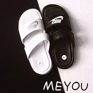 newest collection fc8cb 87db9 Bapai NIKE slippers classic black white non-slip sports ...