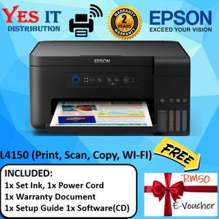 Epson L6170 WiFi Direct Integrated InkTank Color Printer(FREE RM50  E-VOUCHER)