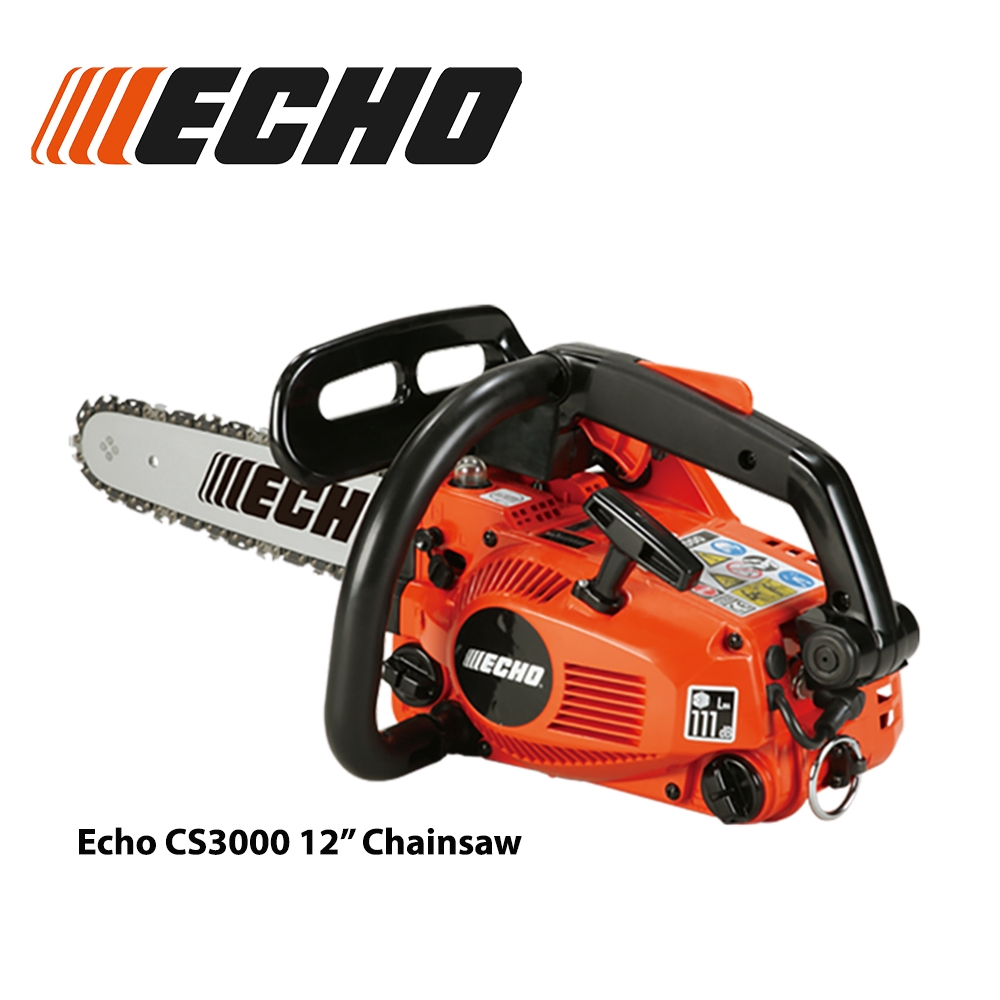 "Echo CS3000 Chain Saw 12"" made in Japan"