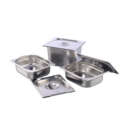 1/4,1/6,1/9   18.8 S/Steel Food Pan And Cover